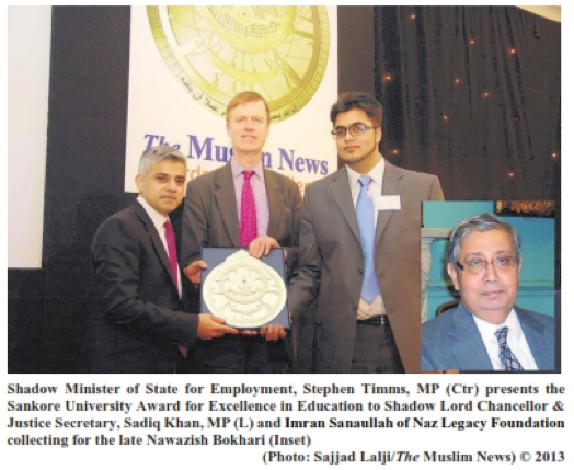 Imran elected as Vice President of Westminster University Law Society