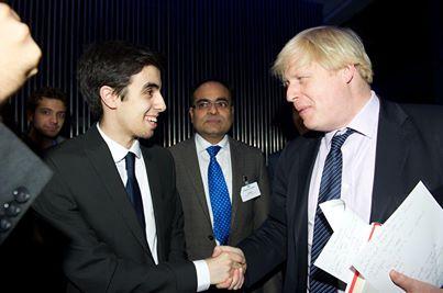 Omar Ouladissa meets Mayor of London