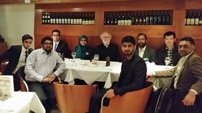 Naz Bokhari Award winners meet former Archbishop of Canterbury