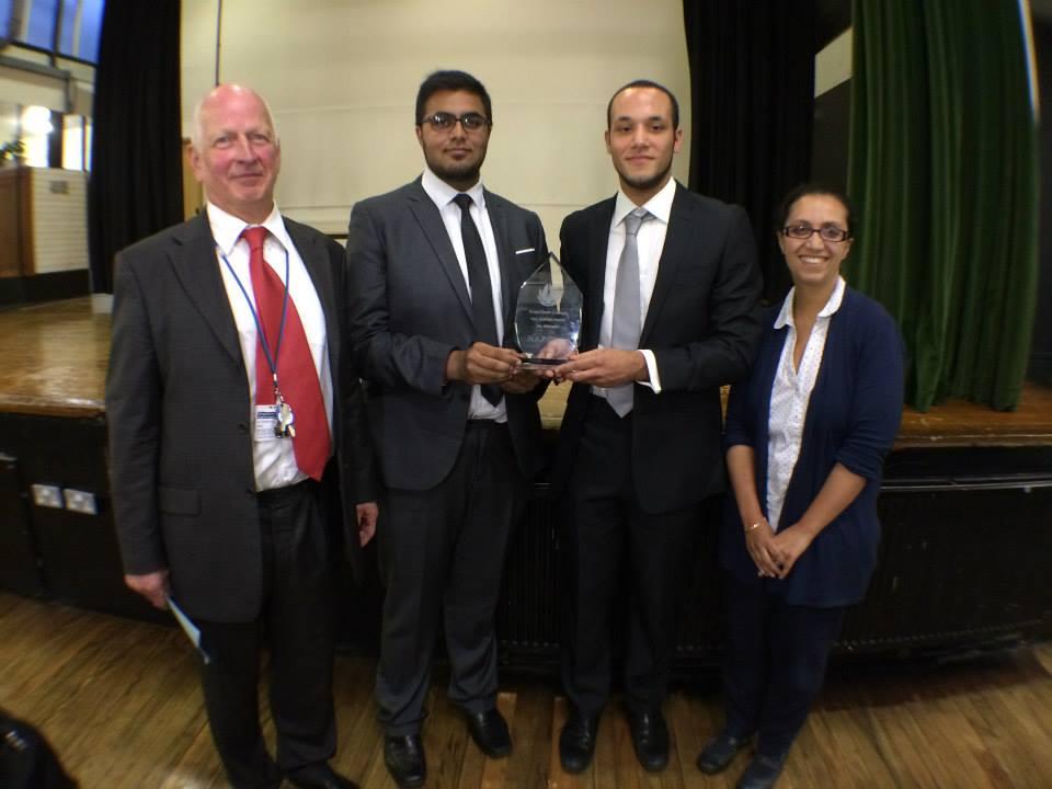 Tre wins Naz Bokhari Award 2014