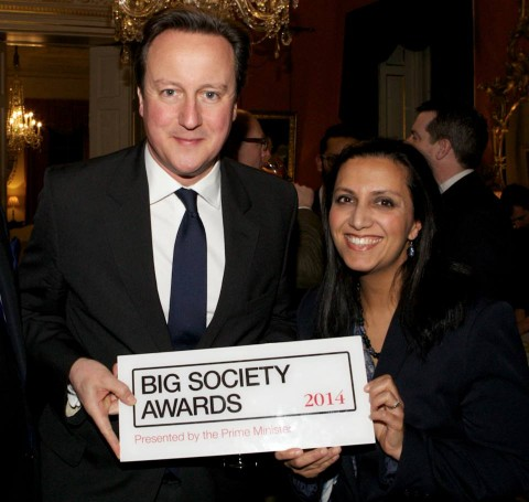Foundation Recognised in PM's Downing Street Celebration