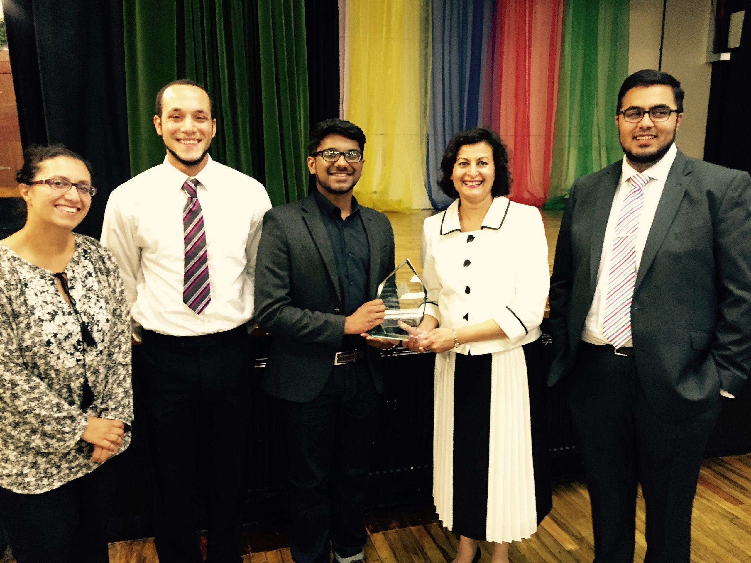 The Naz Bokhari Award 2015 winner is …