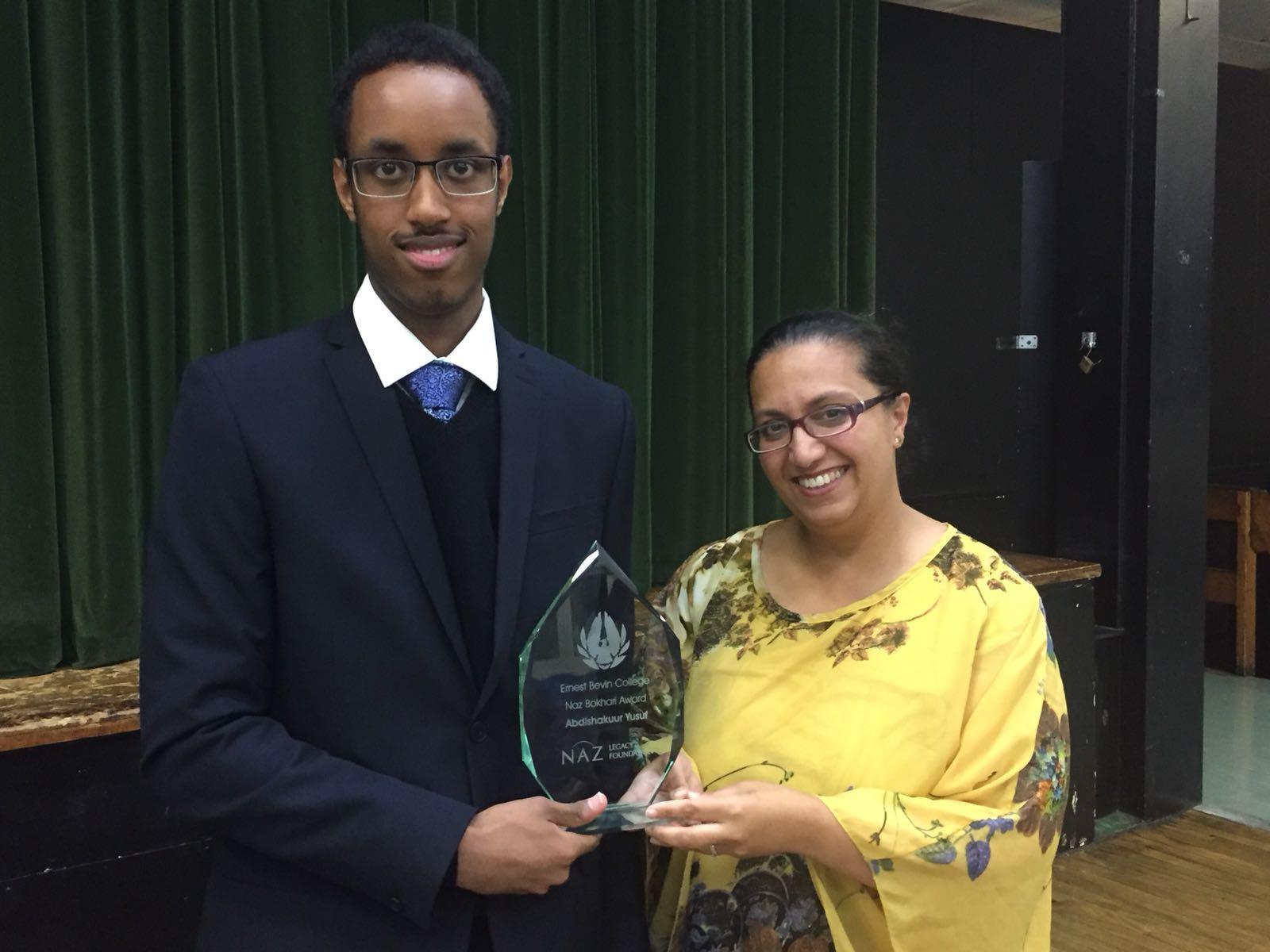 Naz Bokhari Award 2018 winner announced