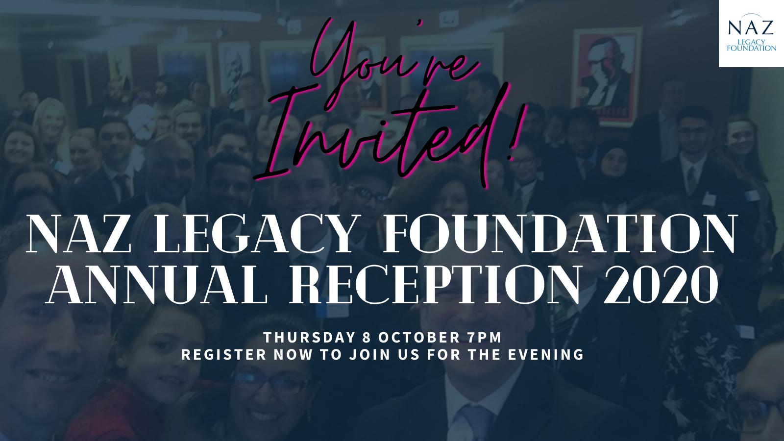 You're Invited: Annual Reception 2020