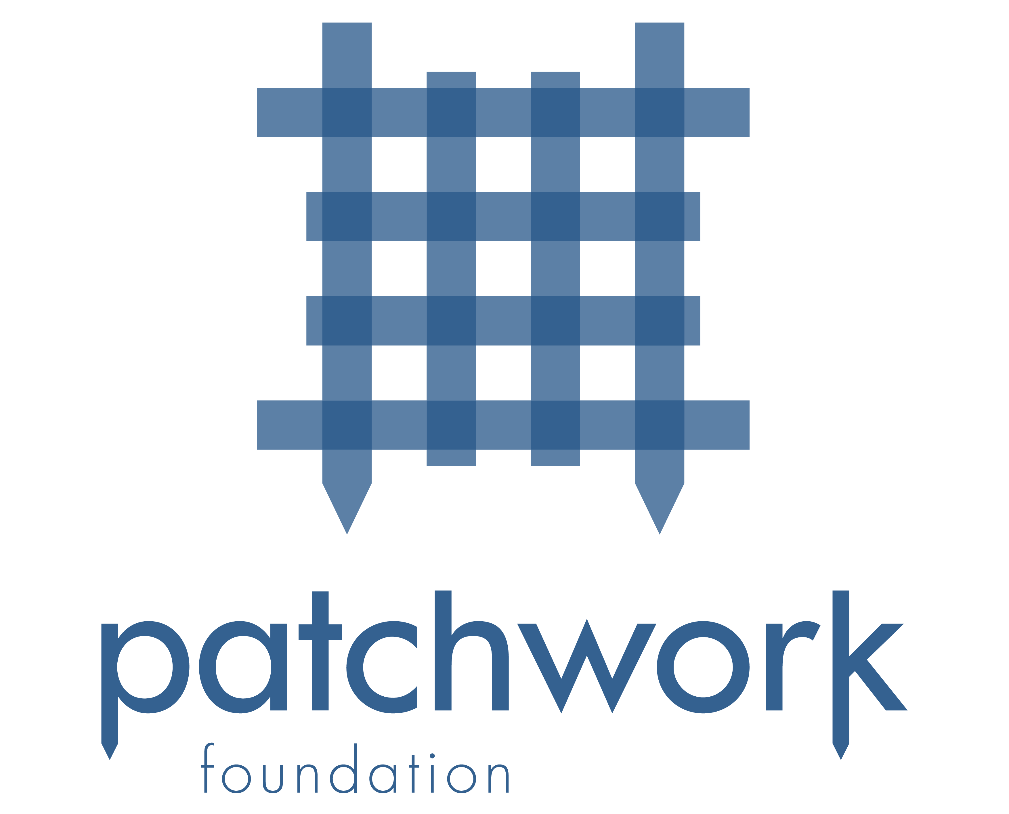 Patchwork_logo blue_stacked