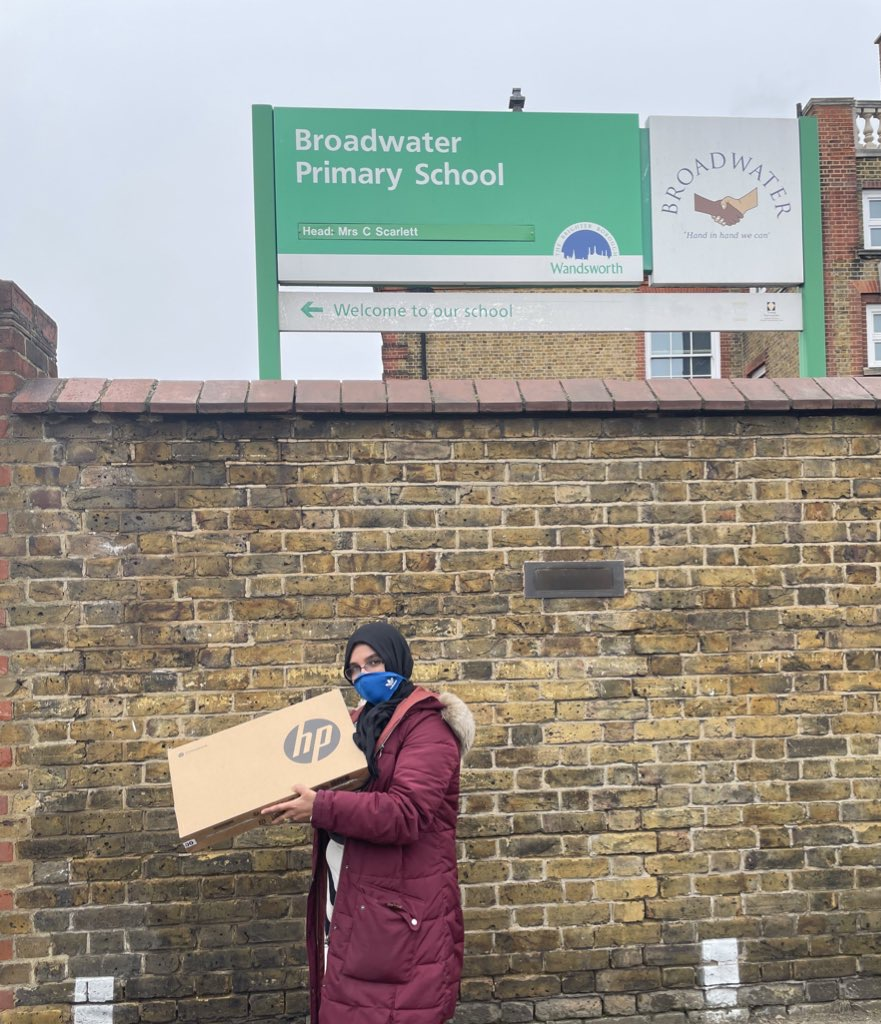 NLF Distributes Devices to Tooting Schools